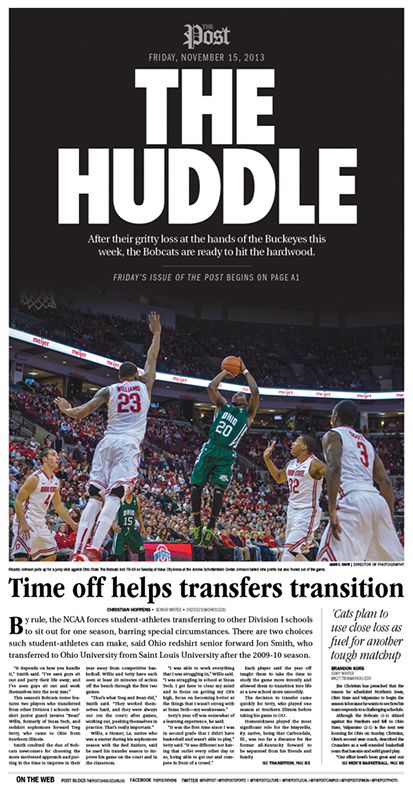 The Huddle Front Page