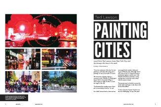 """Painting Cities"" (1 of 2)"