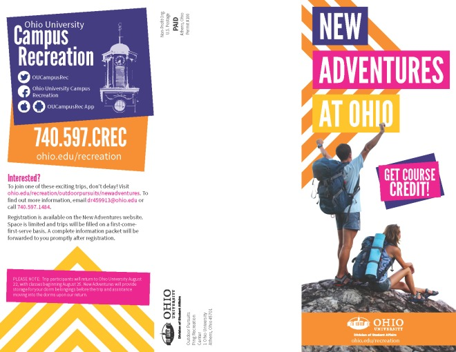 New Adventures Pamphlet (1 of 2)