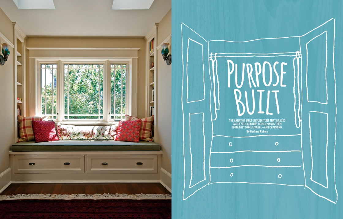Old House Journal: Built-ins (1 of 4)