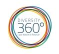 Diversity 360° Compressed Logo Blue