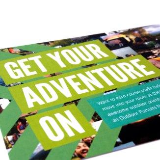 New Adventures Postcard