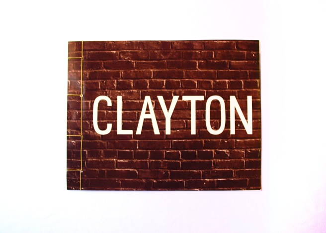 Clayton Book Front
