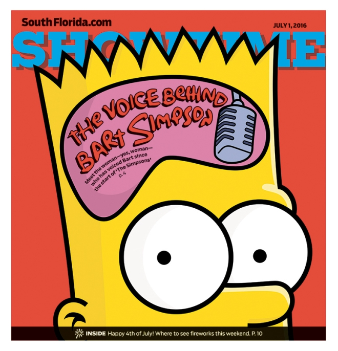 Showtime: The Voice Behind Bart Simpson