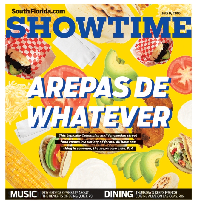 Showtime: Arepas de Whatever